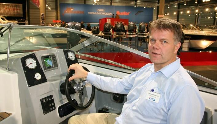 UENIG: Stein Harald Jørgensen mener båtbransjen er opptatt av miljøet, men det er langt frem til den dagen de kan tilby grønne løsninger.