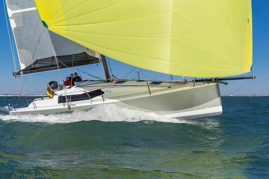 POGO: Verftet er kjent for raske og lette seilbåter, som Pogo 36, en båt med to års ventetid på.