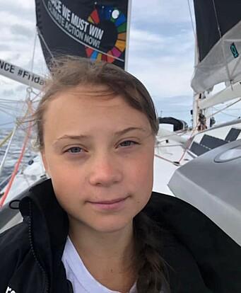 MILJØ: Greta Thunberg fikk tur over Atlanterhavet om bord i «Seaexplorer».