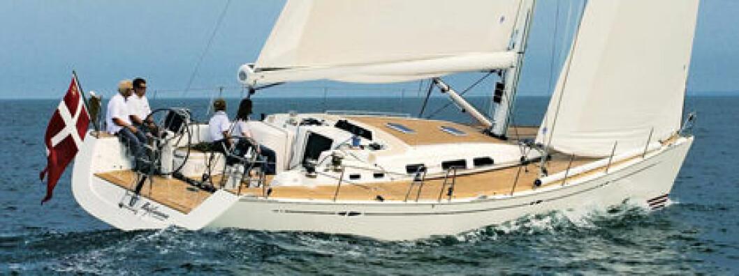X-båt med detaljer i særklasse