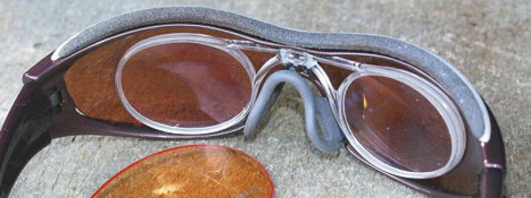 En brille som løser problemet