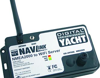 NMEA 2000 til WiFi
