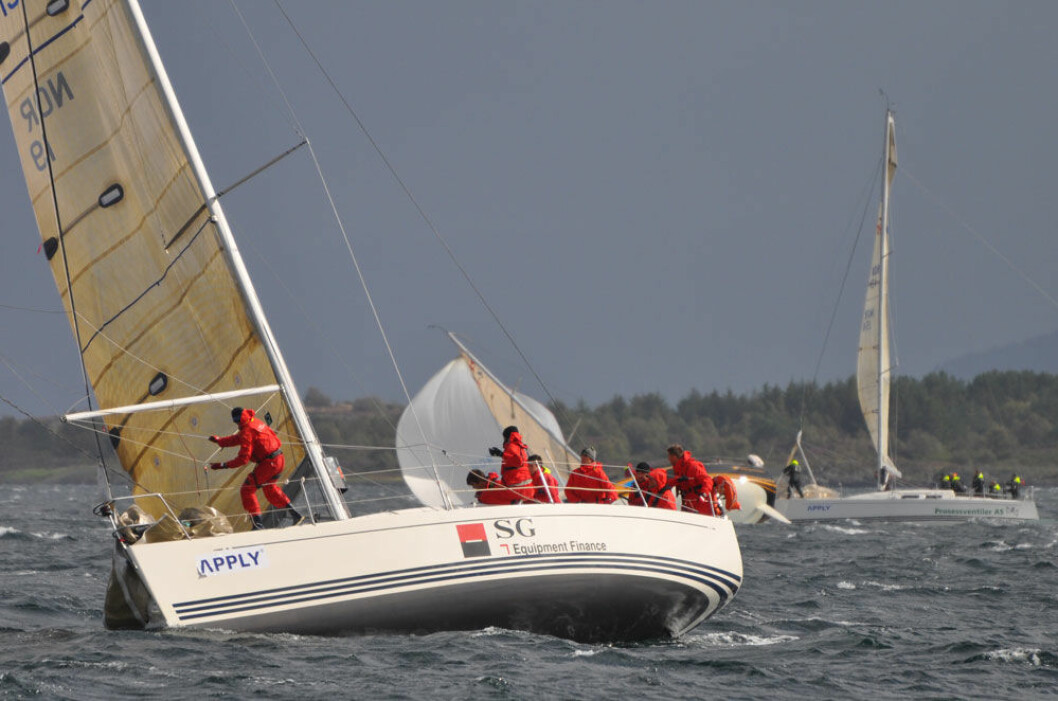 Arendal-båt tok gull under friske forhold