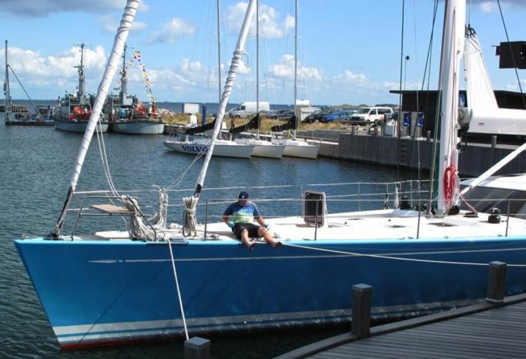 96-årig skipsreder gjør klar for ny sesong
