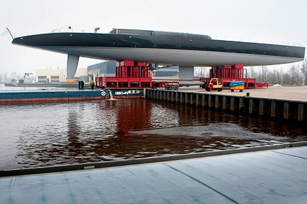 Verdens nest største sloopriggete seilbåt