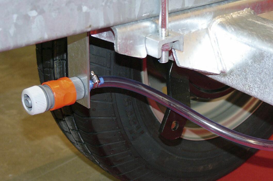 Smart å spyle bremsene