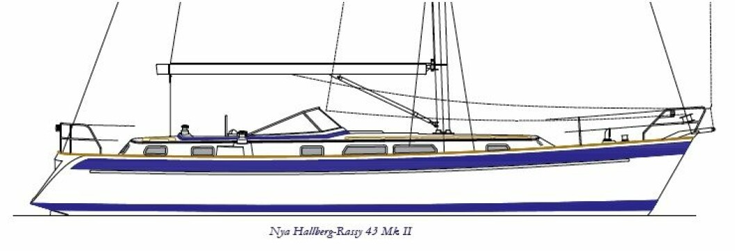 Nypremiere for Hallberg-Rassy 43 Mk II