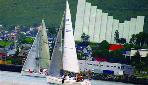 Først turseilere - så regatta