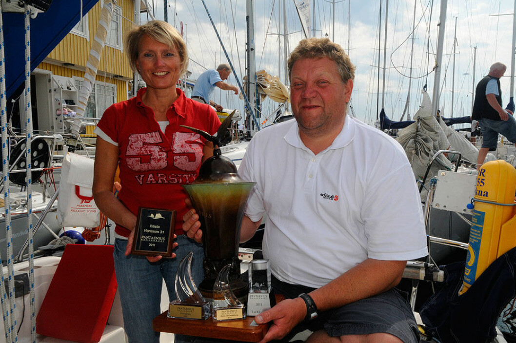 ÅRETS SHORTHANDED-SEILERE 2015: Anne og Arild Heldal ble Årets Shorthanded-seilere i 2015, og Anne topper rankinglisten over kvinnelige shorthanded-seilere før sesongen.