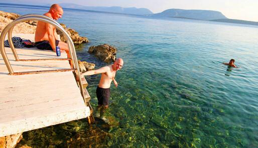 Havn for havn i greske Blue Cup