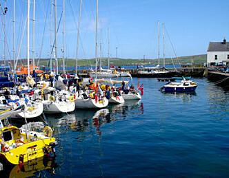 Åpner påmelding til Shetland Race