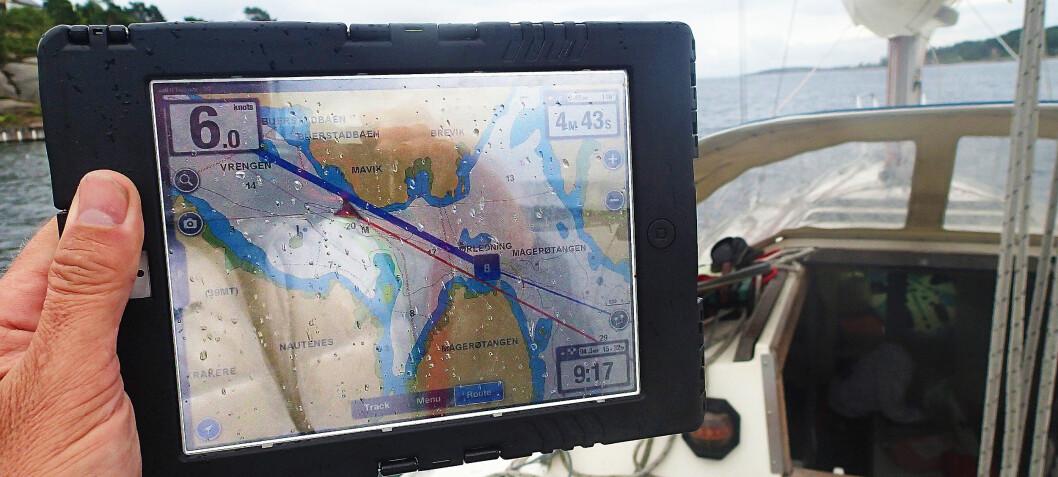 Gode grunner til å ha nettbrett i båt