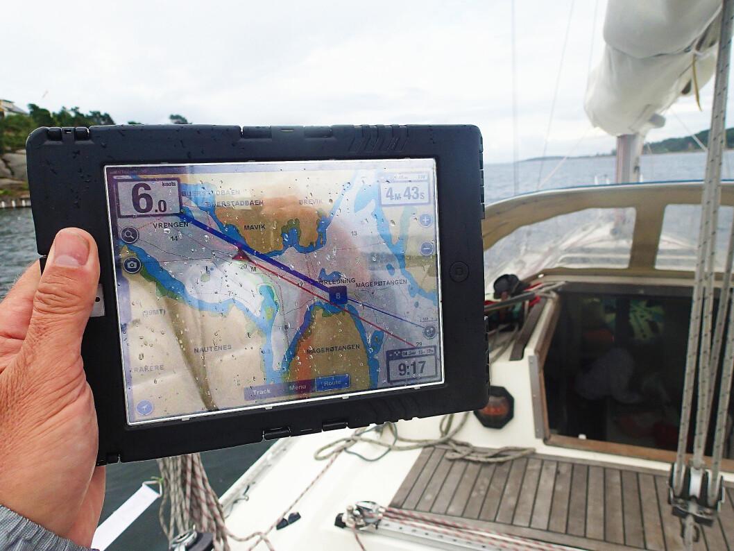 iPad-navigering.