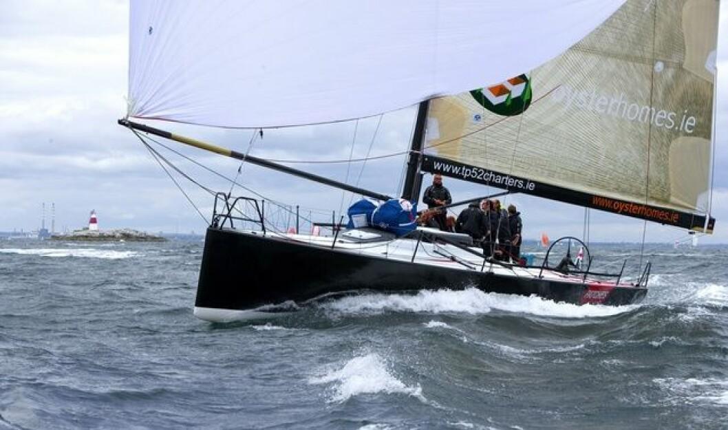 TP52 er en av klassene som skal være med i Scandinavian Arena Race