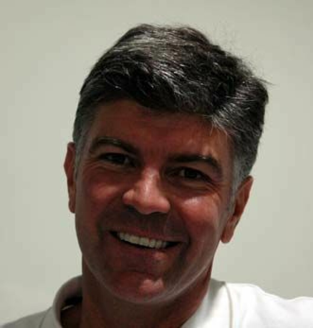 Glenn Bourke i Rio.foto Mikkel Thommessen