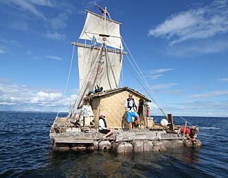 «Kon-Tiki» seiler til Larvik