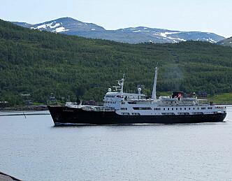 Hurtigruta sjøsetter nordlandsbåt