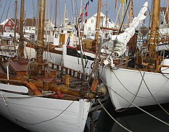 Måtte forlate havnen grunnet festival