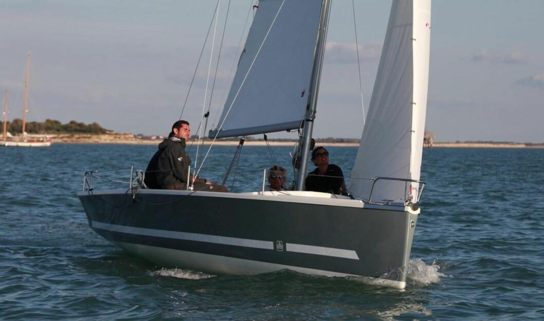 Skolebåt fra Dufour