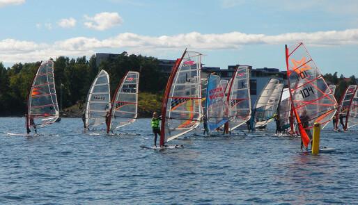 Windsurfing tilbake