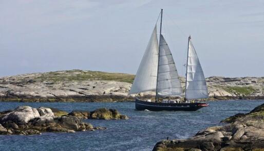 «Pøbelskipet» på vei sørover