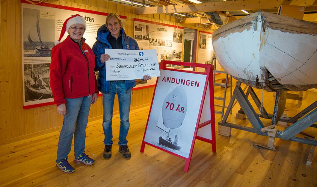 Julenissen kom til Børsholmen
