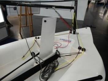 ENKELT: Melges 14 følger samme oppskrift for trim som laser.