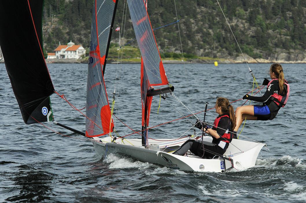 EM I TØNSBERG: 29er-seileren skal seile EM på hjemmebane i Tønsberg i år.