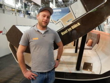 KUL: Bente er utviklet av en gjeng hipstere. Alexander Vrolijk foran den grønne båten.