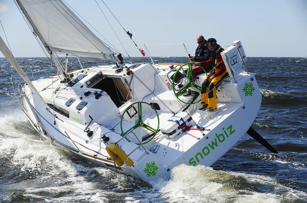 BREDE AKTERSKIP: Moderne båter med brede akterskip vil i år bli samlet i en egen klasse i Seapilot 2Star.