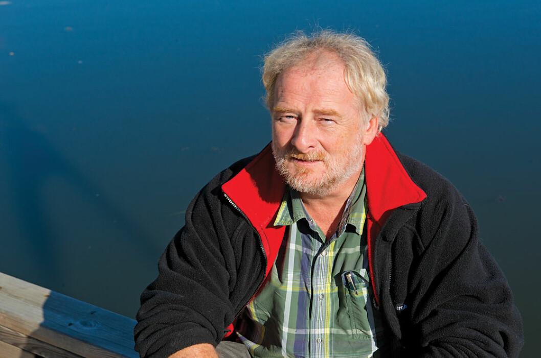 GAVE: Are Wiig har mottatt en velkommen og generøs gave fra X-Yachts Norge AS.