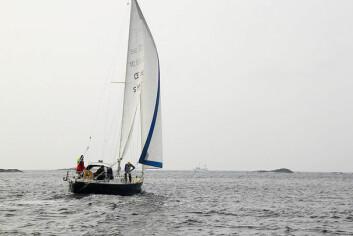 OE 32: Are Wiig har anskaffet en båt av typen OE 32 som han skal seile jorden rundt med. OE står for konstruktøren Olle Enderlein.