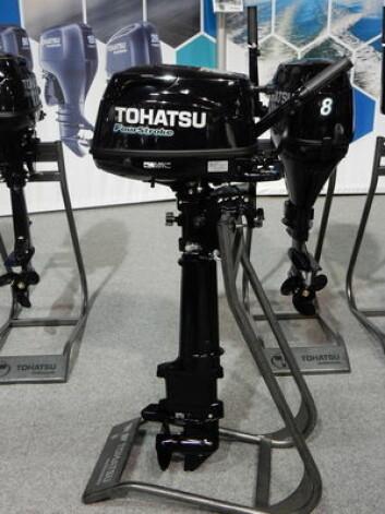 6HK: Tohatsu har en påhenger med ekstra lang stamme.