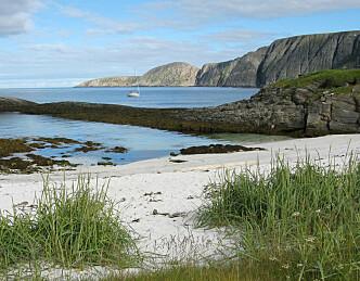 Finnmark inn på charter-kartet