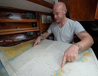 Seilte alene til Shetland