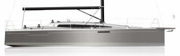 TO UTGAVER: Dehler 34 kommer i to utgaver; en «snill» turbåt og en mer kompetent regattabåt.