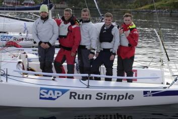 NR. 13: SEILmagasinet tipper laget til Stord Seilforening på en 13. plass til slutt i seilsportsligaen.