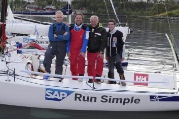 TEAM RAN: De seilerne som vil representere Ran i seilsportsligaen, har alle vært igjennom mye trening og harde kvalifiseringer. Det kan bringe dem høyt opp.