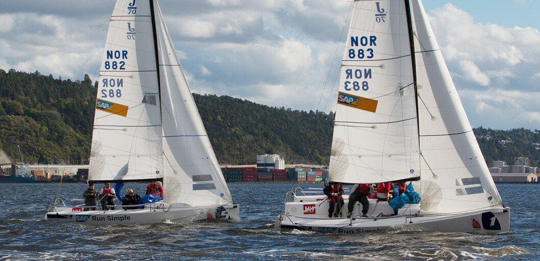 PÅ PALLEN: Tre foreninger skal bestige pallen etter endt seilsportsliga og SEILmagasinet tror Fredrikstad Seilforening blir en av dem.
