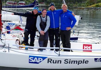 ARENDAL: Bjørn og Petter Mørland Pedersen (til høyre) vil evne å trekke unge seilere med seg til topps i seilsportsligaen.