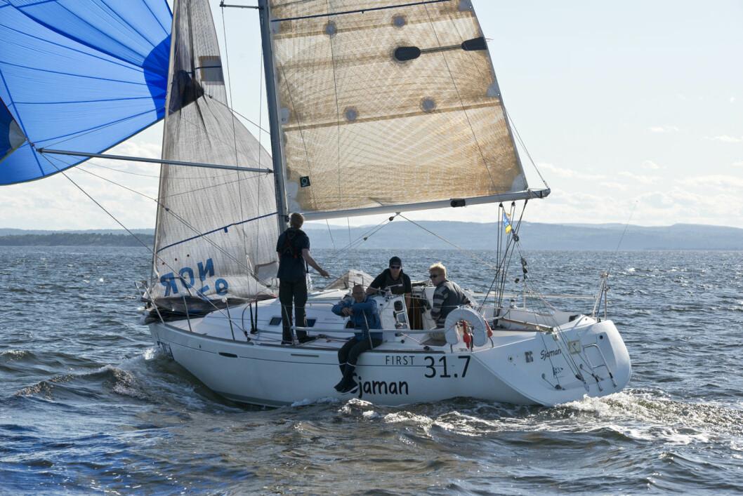 FIRST 31.7: 13 båter stiller til start i Færderseilasen, men det er helt spesielle årsaker til at båten er blitt så populær.