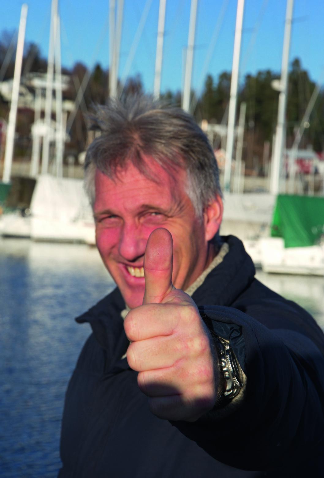 ENDRING: Seilsporten er i endring, mener Espen Guttormsen.