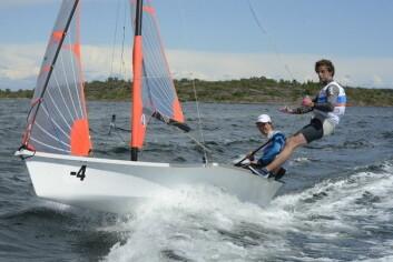 GULL: Pieter van Leigen and Daniel Bramevaar fra Nederland var best i EM.