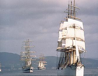 TRS-flåten nærmer seg Bergen