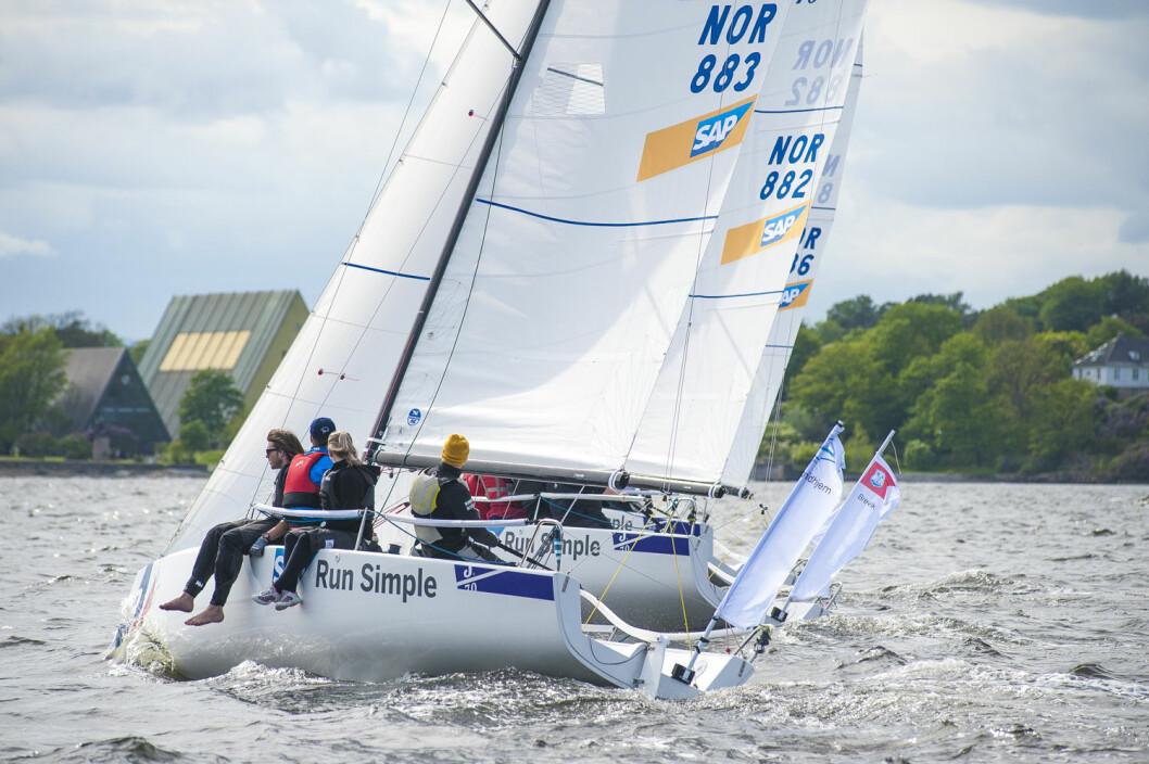 KAMP: 8. og 9. oktober blir det kamp om å kunne kvalifisere seg til seilsportsligaen i 2017.