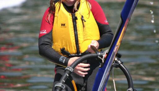 Windsurfingsamling for unge
