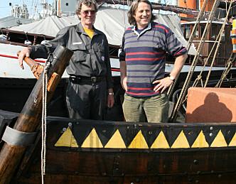 Vikingskip klar for ny sesong