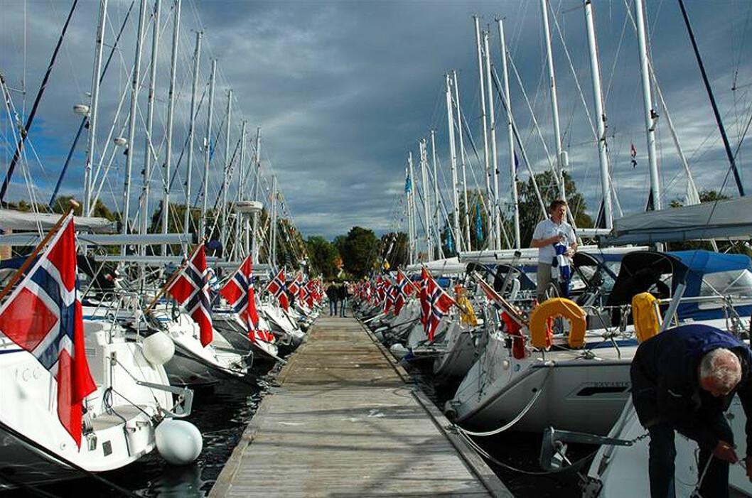 HØSSTREFF: Bryggene i Son blir fylt av Bavaria-er denne helgen når Norsk Bavariaklubb skal ha høsttreff.