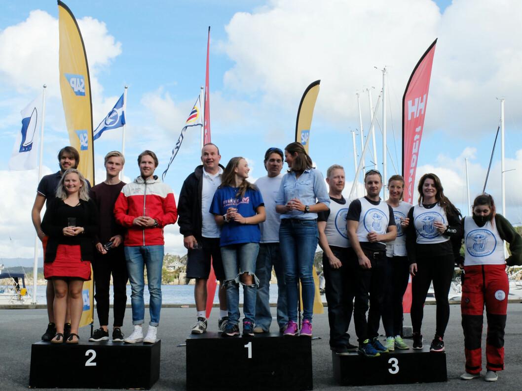 SEIERSPALLEN i 4. RUNDE: KNS vant den 4. og siste runden i 1. divisjon foran Trondhjem og Åsgårdstrand.