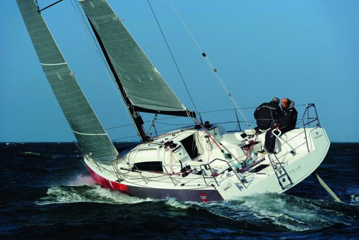 RASK: Sun Fast 3600 er utviklet for et segment seilere som stiller høye krav til funksjon. Det ser ut til at Jeanneau har lykkes.